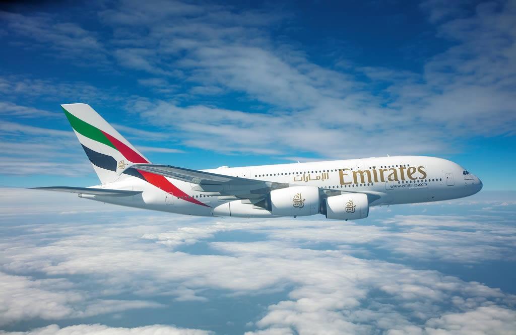 Airbus A380 da Emirates