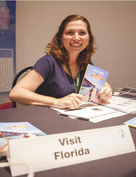 Ana Lúcia Severo - Visit Florida - TravMedia IMM Brazil. Por: Camila Karam