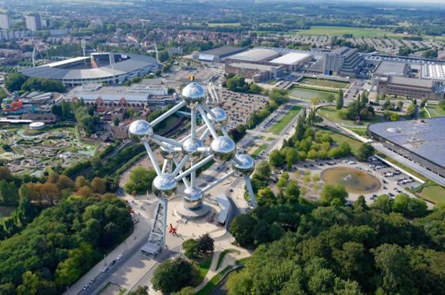 Atomium - visit.brussels - Bruxelas - Bélgica