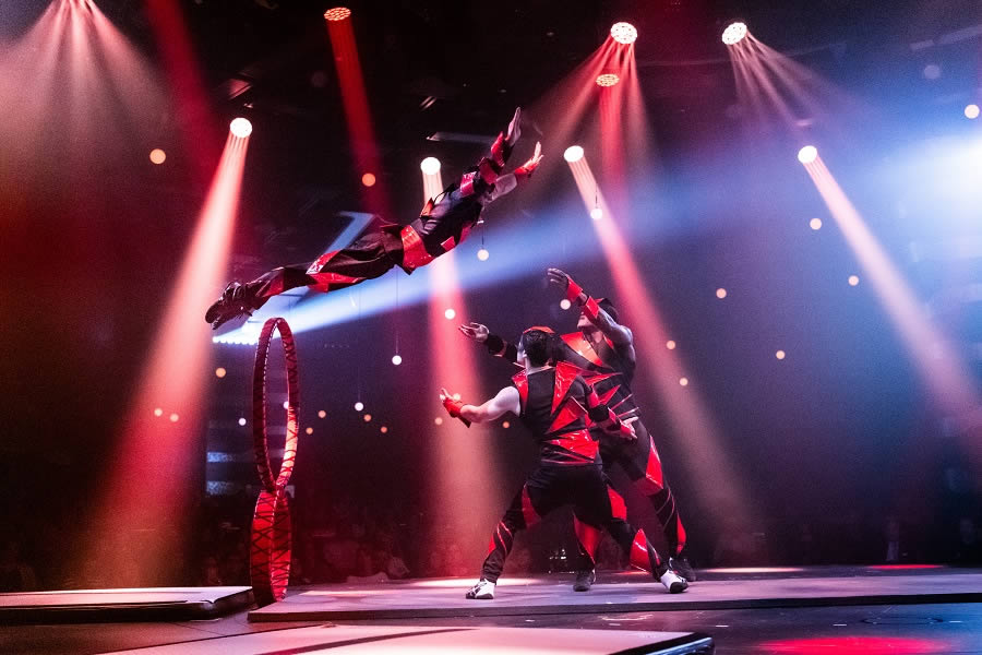 COSMOS, Journey to the Unbelievable - Cirque du Soleil at Sea