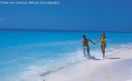 Laselva Viagens - Praia em Cancun, México (Divulgação)