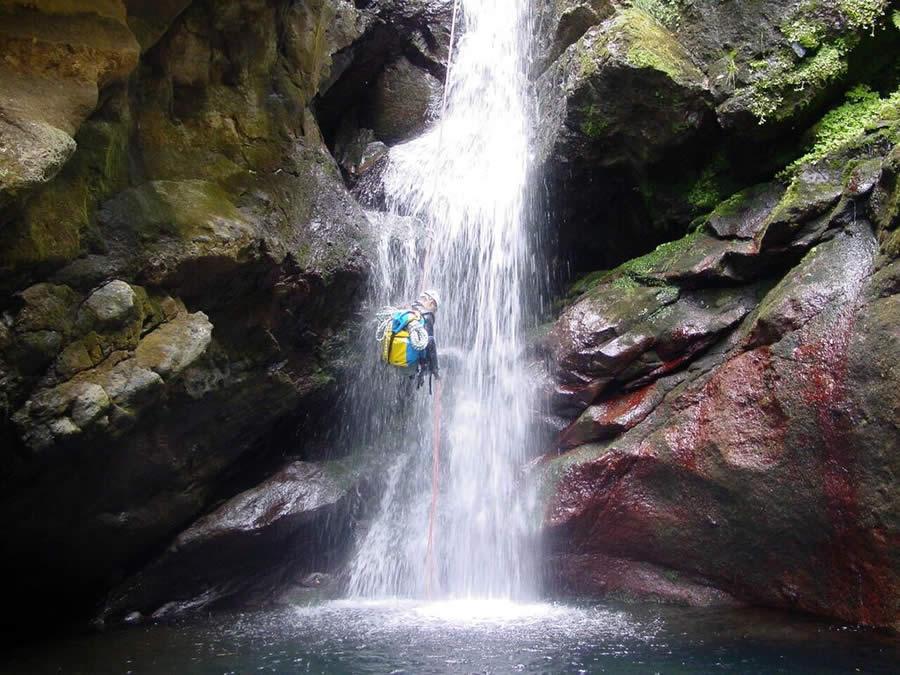 Ilha da Madeira - Portugal - Canyoning - Ribeira do Seixal