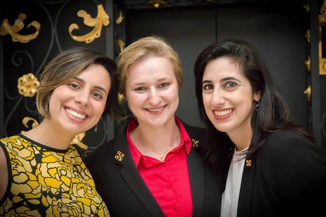 Conciernes - Carolina Febronio, Veronika Vidmar e Renata Farha