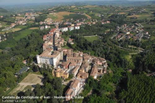 Castelo de Costigliole d' Asti