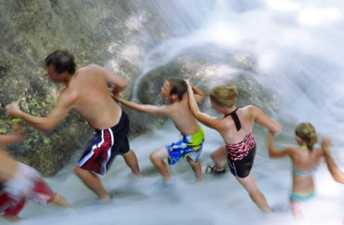 Dunns River Falls - family