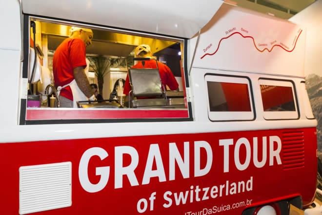 Grand Tour da Suíça no Brasil - food trucks