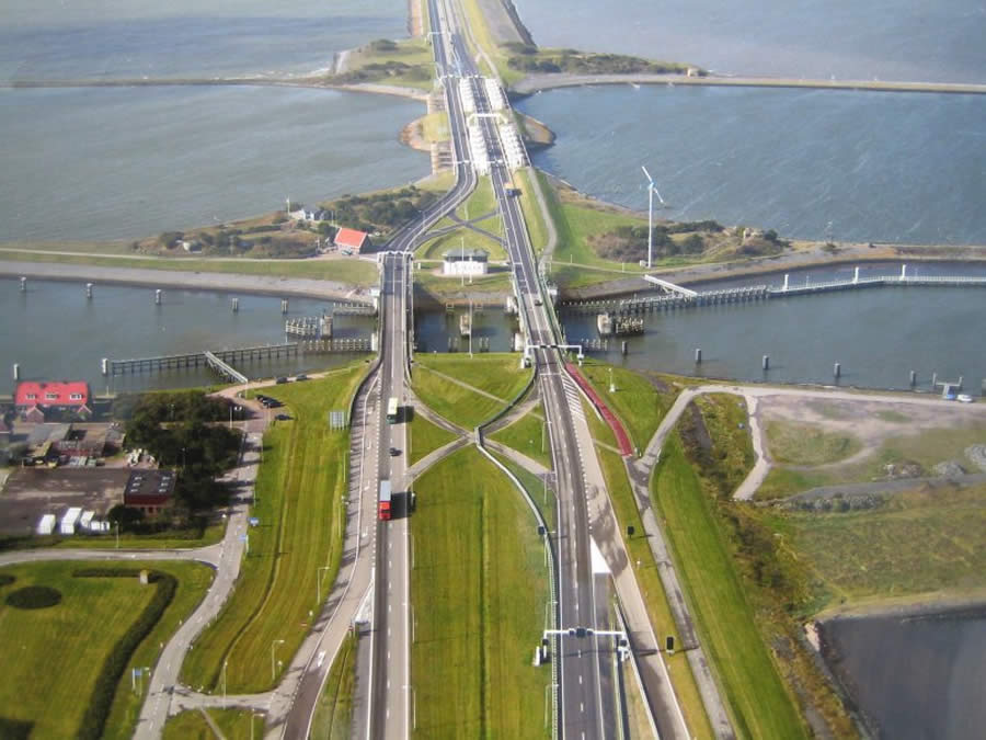 The Afsluitdijk - Holanda - Holland - Netherlands