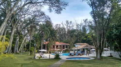Área externa do hotel - Hotel & Golfe Clube dos 500 - Guaratinguetá (SP)