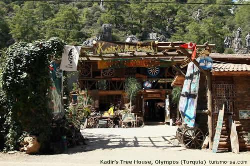 Kadir's Tree House, Olympos (Turquia)