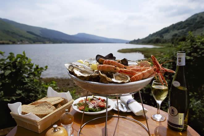 Loch Fyne Oyster Bar - Cairndow