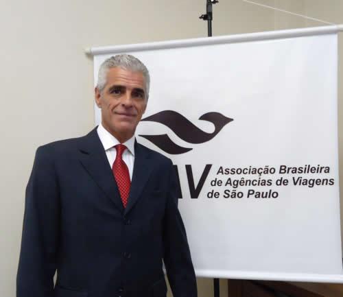 Marcos Balsamão, presidente da Abav-SP - Divulgação