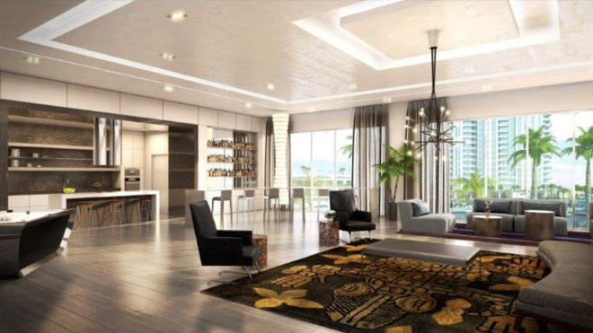 Marina Palms Yacht Club & Residences em Miam - Empreendimento de luxo Yacht