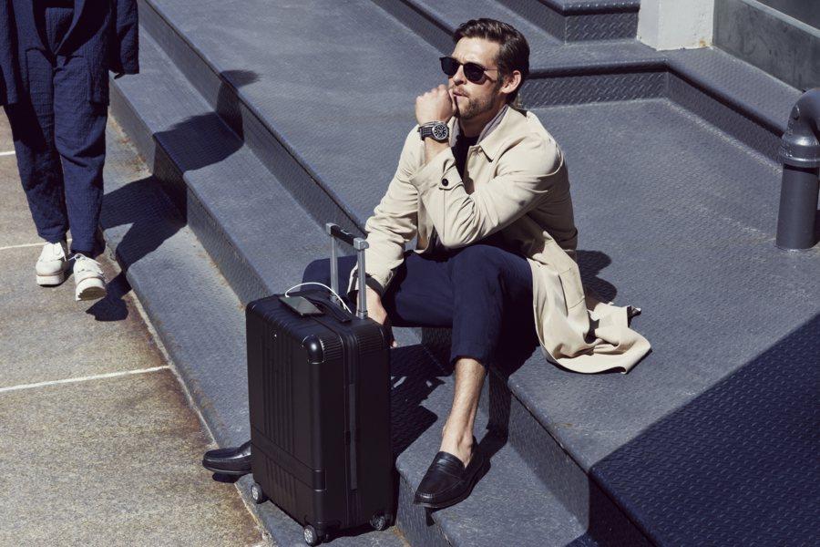 Embarque - viagem - Montblanc - Luggage Collection - Bagagem - Luxo - Viagem - Turismo