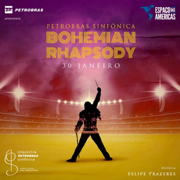 Concerto de Bohemian Rhapsody no Espaço das Américas