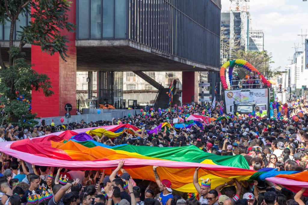 Parada LGBTQIA Sâo Paulo