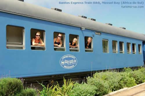 Hostel - Santos Express Train B&B, Mossel Bay