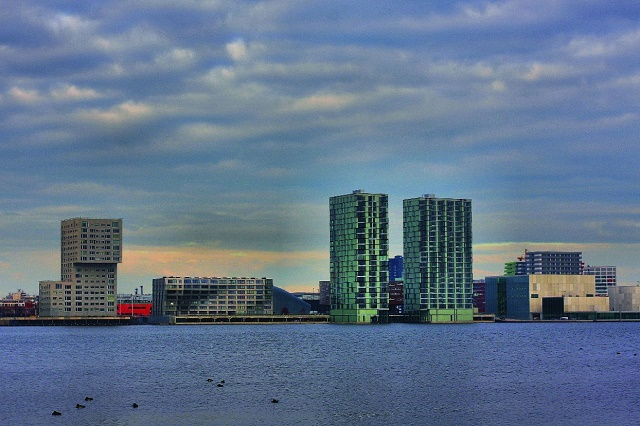 Skyline - Almere - Holanda - Holland - Netherlands