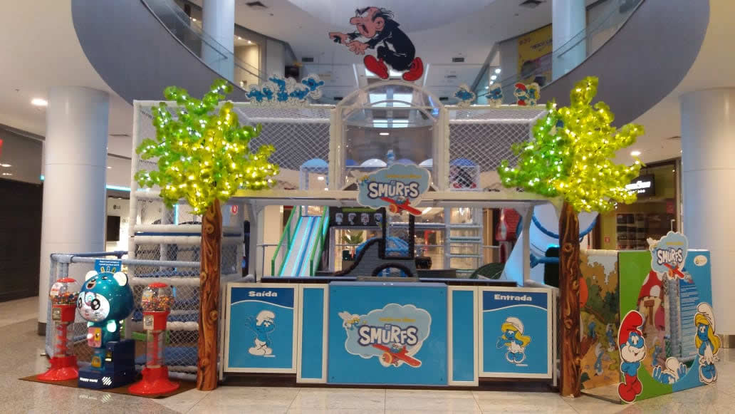 Smurfs Shopping Taboão