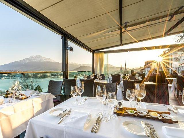 Scala Restaurant - Suíça - Lucerna - Lucerne - Central Switzerland - Europa - Gastronomia