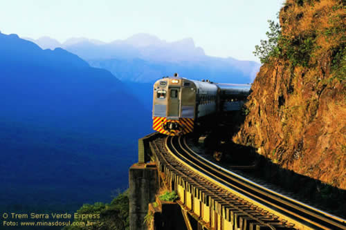 Trem Serra Verde Express, ES