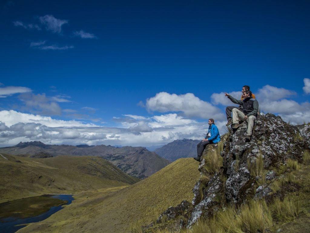 Trilha - rastro - Salkantay - trekking - aventura - Peru - Mountain Lodges of Peru