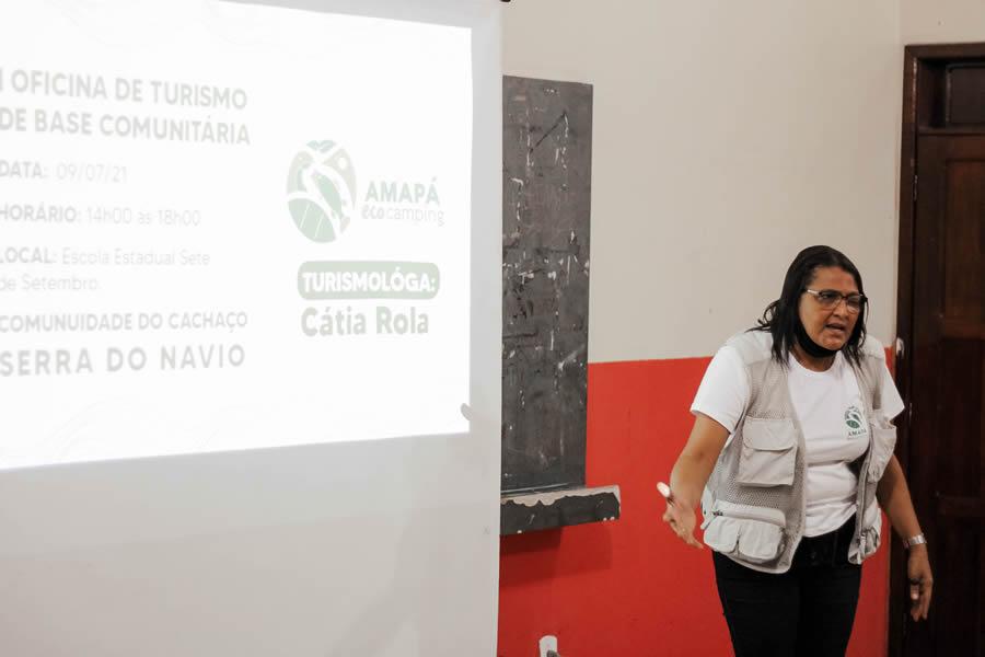 Turismóloga Catia Rôla - Divulgação