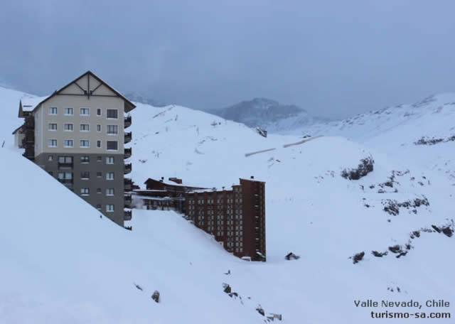 Valle Nevado, Santiago Chile