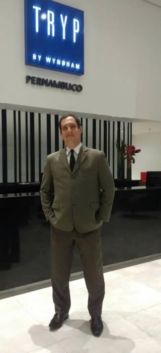 Vinícius Correa assume o comando do novíssimo TRYP Pernambuco
